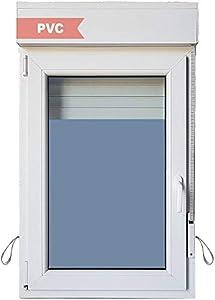 Ventana PVC Practicable Oscilobatiente Izquierda con Persiana 700 ancho x 1155 alto 1 hoja