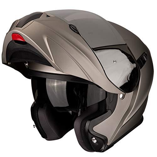 Scorpion Exo-920 Titanium Motorradhelm, Klapphelm (L 58/59)