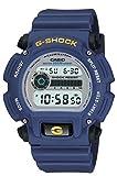 Casio Men's G-Shock Quartz Watch with Rubber Strap, Blue, 23.75 (Model: DW-9052-2V)
