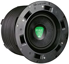 Beale Street Audio ICS8-MB | in-Wall, in-Ceiling Subwoofer | Kevlar Driver