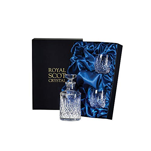 Royal Scot Crystal Londen Single Malt Whisky Set presentatie Boxed