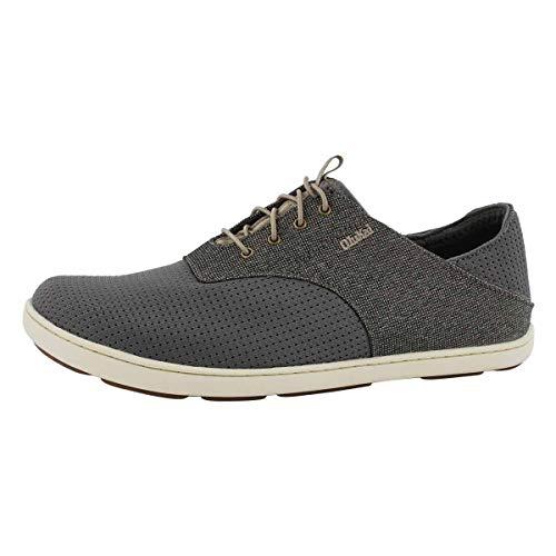 OLUKAI Men's Nohea Moku Shoes,Dark Wood/Dark...