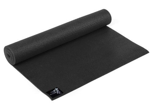 Yogistar Yogamatte Basic Esterilla de Yoga, Unisex, Negro (Zen Black), 183