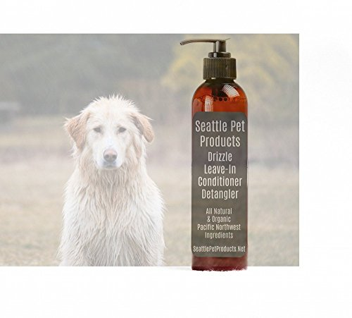 Drizzle Leave-In Conditioner and Detangler, Seattle Pet Product, All Natural