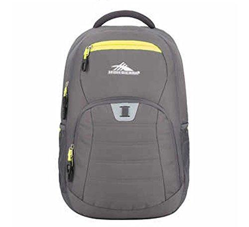 High Sierra RipRap Mochila escolar y para portátil hasta 15' modelo GRIS