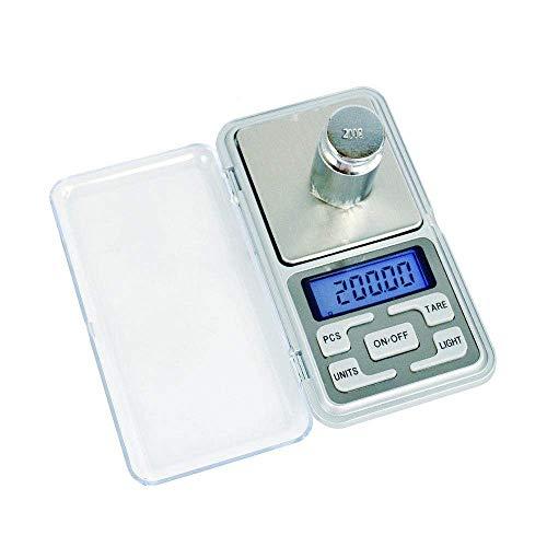 Keuken Thuis Multifunctionele Zakweegschaal Hoge Precisieweegschaal Elektronische Gramschaal Elektronische Weegschaal Mini Gsm-weegschaal Kleine Elektronische Weegschaal-200G/0.01G