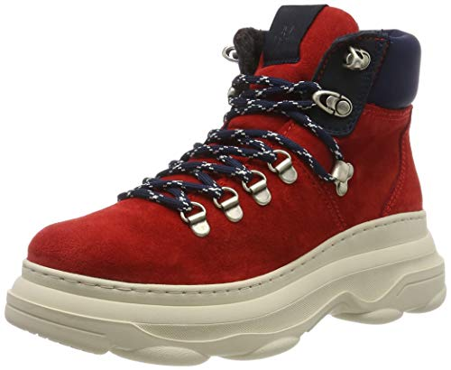 Marc O'Polo Damen 90815336301315 Stiefeletten, Rot (Red 345), 39 EU