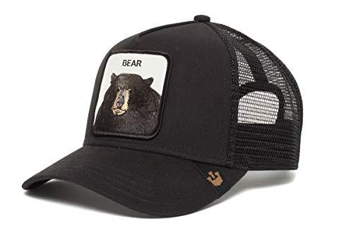 GOORIN BROS Trucker Baseball Black Bear, Black, Taille unique