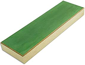KNIVES PLUS Strop Strop Block, Leather Sharpening Strop, 8 Long