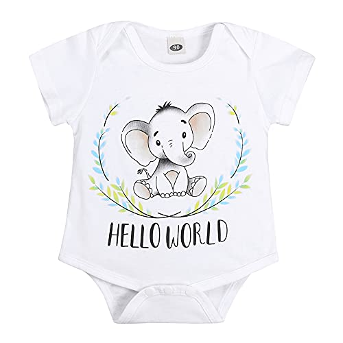 URMAGIC Newborn Baby Rompers Girls Little Peanut Short Sleeve Cotton...