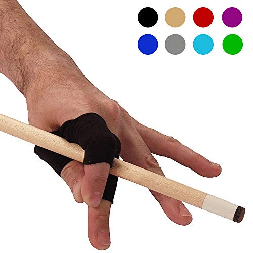 Unglove V2 Fingerwrap Billiards Glove Version 2 (Black)