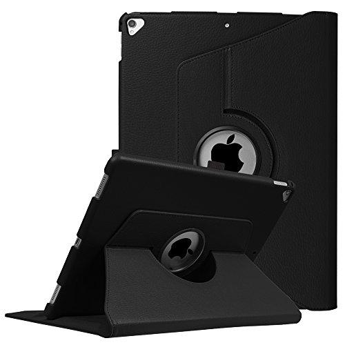Fintie Funda Giratoria para iPad Pro 12.9 - Rotación de 360 Grados Carcasa con Función de Soporte y Auto-Reposo/Activación para iPad Pro 12,9 Pulgadas (Versión 2017/2015), Negro