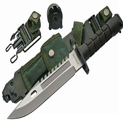 SZCO Supplies 13' M-9 Bayonet Military Style Tactical Saw Back Knife