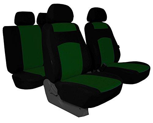 Einfache Bezüge Classic Plus Passend für Dacia Duster - Universal Stoffsitzbezug Zum Sonderpreis!!! in Diesem Angebot Grün (in 5 Farben Bei Anderen Angeboten erhältlich).