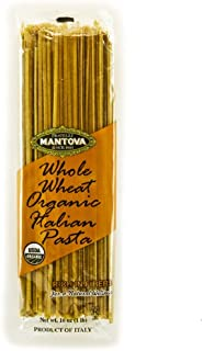 Mantova Whole Wheat Organic Italian Linguini Pasta, (Pack of 4) rich in fibers, durum wheat used for Mantova Organic Pasta is grown in the sunny, fertile soil of Apulia in southern Italy.