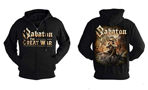 Nuclear Blast Records Sabaton - The Great War - Kapuzenjacke HSW w/Zipper S