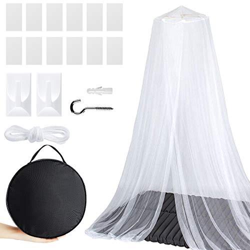 EXTSUD Moskitonetz für Doppelbett Einzelbett, Mosquito Netz Mückenschutz Mesh Insektennetz Insektengitter Insektensicher Schützt vor Insekten und Mücken, Fliegennetz für Indoor Outdoor Reise Camping