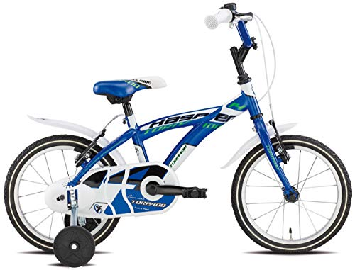 TORPADO Bici Bimbo T680 Kasper 14'' 1v Blu (Bambino)