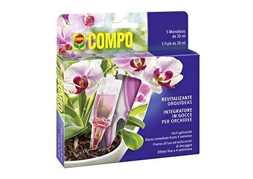 Compo Nutrimento in Gocce per Orchidee, con Sali Minerali, 5 Fiale Monodose da 30 ml, 150 ml