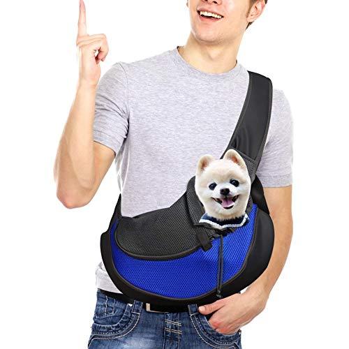 DMSL Hundetasche Tragetuch Hund Hundetragetasche Transporttasche Transportbox für Kleine Hunde und Katzen -um Ihr Tier sicher und komfortabel zu halten,Kann weniger als 10 kg tragen, 45 x 30 x13 cm