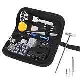 Juego de herramientas para relojes, 144 piezas, herramientas para relojes, herramientas, bolsa, set de reparación