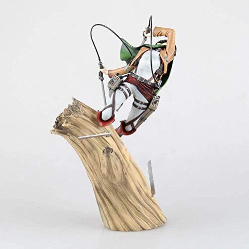 Figuras de acción Hotel Transylvania Toys Attack On Titan Versión de Combate Levi de pie · Ackerman Anime Souvenirs Coleccionables Artesanía Juguete Anime Modelo