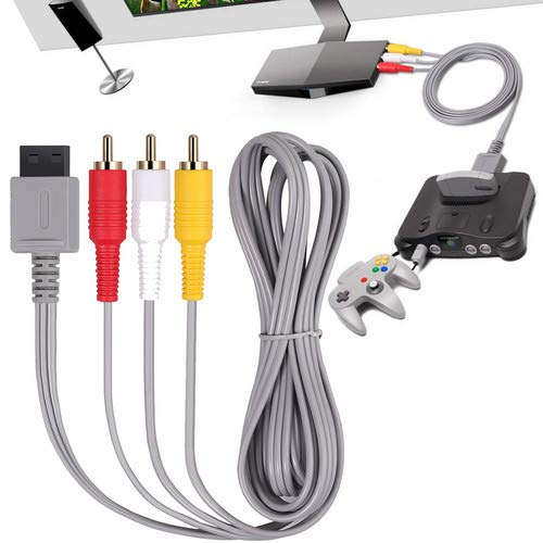 CAMWAY Cable AV para Wii / Wii U, 1.8 metros / 6...