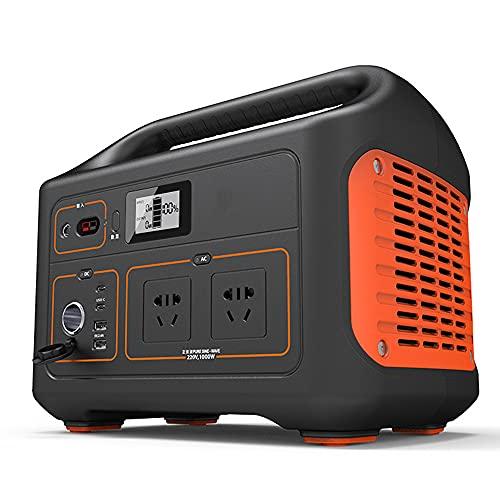 ZLH Generador Recargable Portátil 550WH / 153000Mah, Silent 220V CA Outlet/USB-C Power Party/USB / 12V Car Thirts, para Una Carga Rápida, Camping, Emergencias, CPAP Y Más