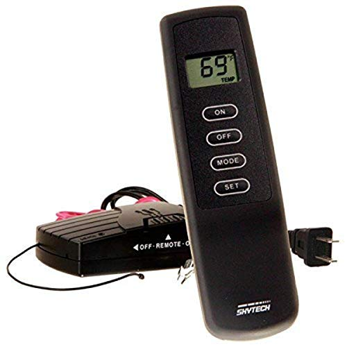 SkyTech SKY-1410TH-A Fireplace-remotes-and-thermostats, Black