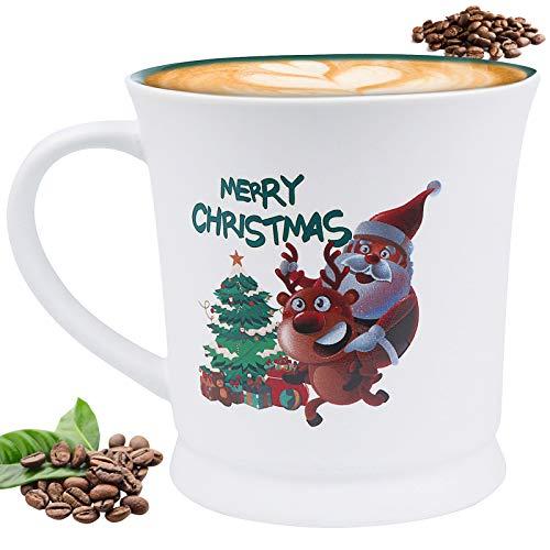 ApePal Christmas Coffee Mug, 17 oz Coffee Mug, Funny Cup with Handle, Happy New Year Coffee Cup Best Gifts(A)