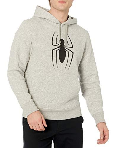 Amazon Essentials Disney Star Wars Fleece Pullover Sweatshirt Hoodies Felpa, Marvel Spider-Man Icon, M