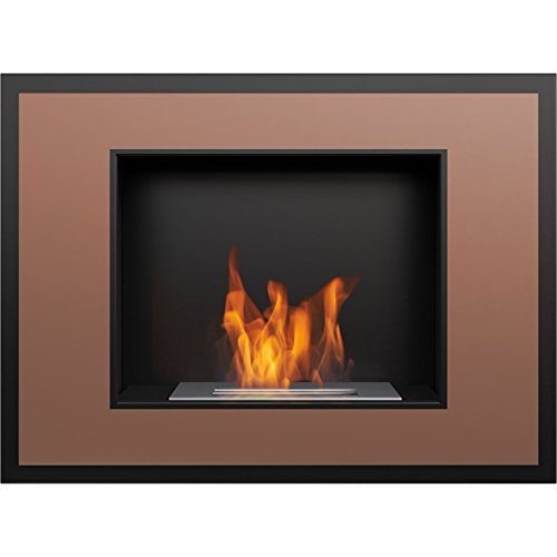 %18 OFF! Domadeco Atlanta copper mounted bioethanol fireplace modern style fireplace/unique fireplac...