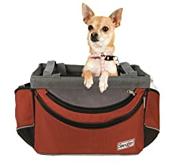 Bicycle pet carrier for Dogs 2-14 lbs