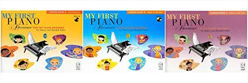 My First Piano Adventure Lesson Books Set (3 Books) - Lesson Book A, B, C