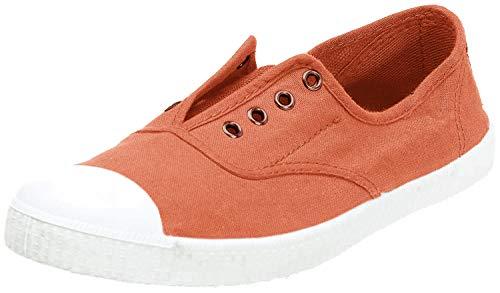 Victoria Inglesa Elastico Tenido Punt Chaussures de Sport pour Femme - - Mangue, 35.5 EU