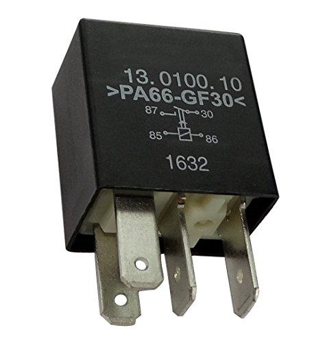 Aerzetix: Relais Warn Blinkleuchte C40249 kompatibel mit 01235278 1238505 6238605 6238610 13266316 24435922