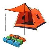 Tenda da campeggio completamente automatica 3-4 Estate Campeggio domestico Campeggio selva...