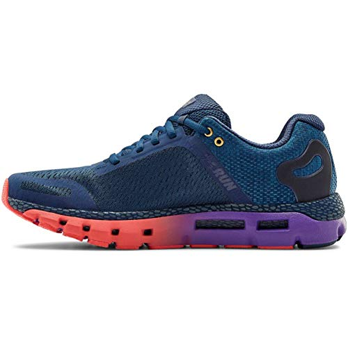 Under Armour Herren HOVR Infinite 2 Sportschuhe , Verdunkelung Marineblau Violett Pop Metallic Gold Luster 403, 43 EU