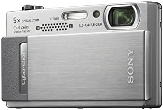 Sony Cybershot DSC-T500 10.1MP Digital Camera with 5X Optical Zoom with Super Steady Shot Image Stabilization (Silver)