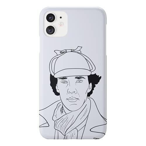 Sherlock Holmes Tv Series Hand Drawn Main Character Phone...