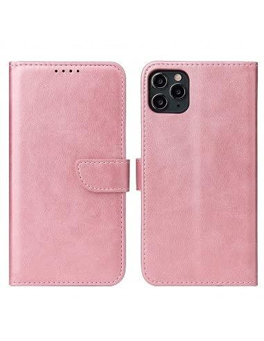 Livro Horizontal magnetische Lmobile Elegant iPhone 11 Pro Max - Rosa