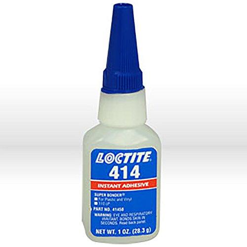Loctite 442-41450 414 Super Bonder General Purpose Cyanoacrylate Instant Adhesive, 1 oz Bottle by Loctite Corporation