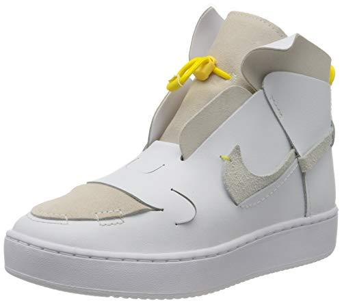 Nike Damen W VANDALISED Basketballschuh, White White Chrome Yellow Black, 38.5 EU