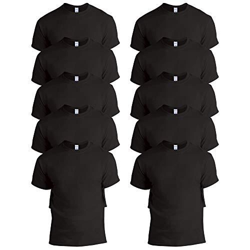Gildan Herren Heavy Cotton Adult T-Shirt, schwarz, 4X-Groß