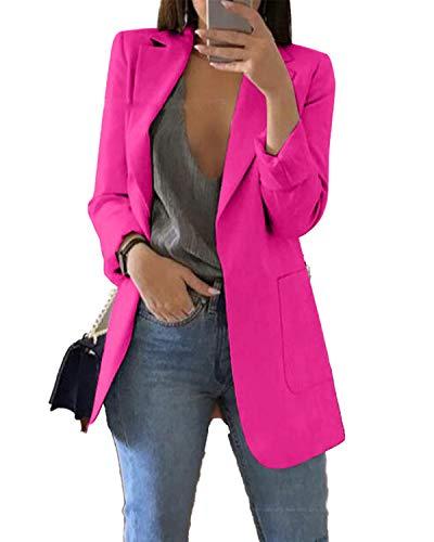 Andongnywell Women's Office Blazer …