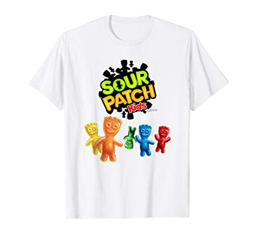 Sour Patch Kids Candy Kids and Logo T-Shirt