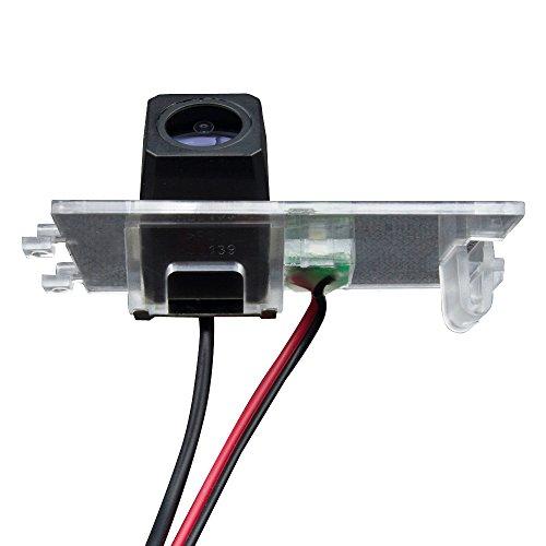 Rückfahrkamera fahrzeugspezifische Kamera unauffällig integriert in der Kennzeichenbeleuchtung Bulli Nummernschildbeleuchtung für Jeep Compass Wrangler Cherokee/Patriot/Grand Cherokee