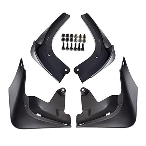BRIGHTSUN XXshop Establecer Solapas de Lodo Moldeado Ajuste para Tesla Modelo 3 2016-2019 Mudflaps Splash Guards Fload Flap Mudguards Fender Front Trasero (Color : Sport Model)