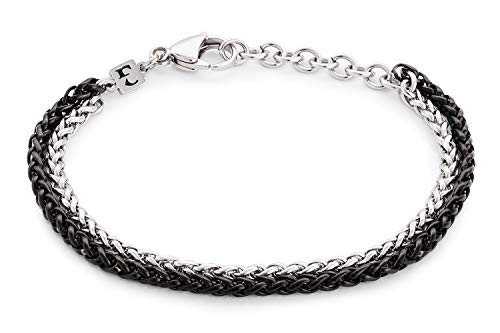 Handmade Cuff Chain Bracelet For Men Made Of Stainless Steel By Galis Jewelry - Silver Bracelet For Men - Cuff bracelet For men - Jewelry For Men - Fits 7'-8' Wrist Sizes