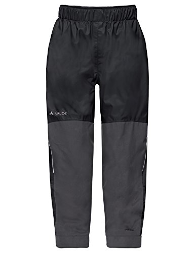 VAUDE Kinder Hose Escape Pants VI, black uni, 104, 41540